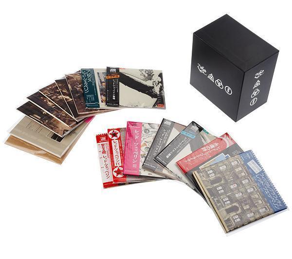 led zeppelin box set 40th years anniversary 12 cd japan edition floydology. Black Bedroom Furniture Sets. Home Design Ideas