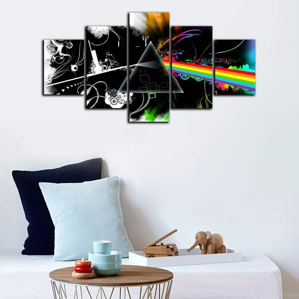 Universe Pink Floyd Wall Art Poster Canvas Hd Painting 1